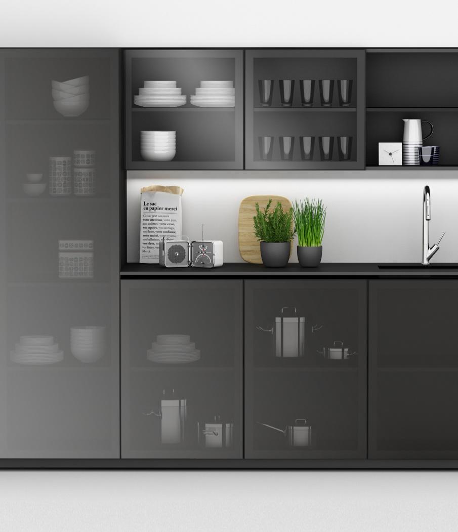 Furnital Aluminium Kitchen doors